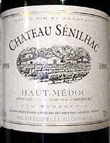 Chateau Senilhac label