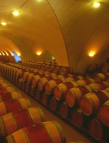 Cellar at Domaine Lagrezette