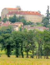 The monastery at Saint Mont